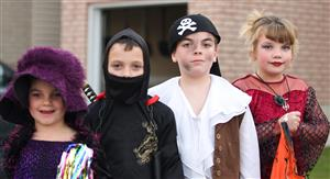 Halloween Kids: Glamour, Ninja, Pirate, Dancer